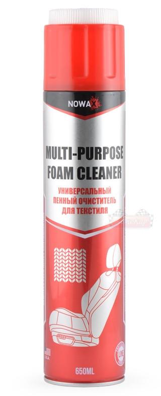 Очиститель салона NOWAX Multi Purpose Foam Cleaner пенный 650мл.