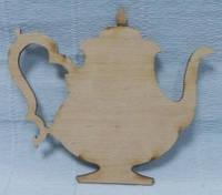 Шильда (накладка) Чайник, 10х8,5см