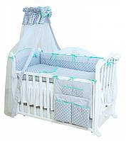 Детская постель для новорожденных Premium P-010 Glamur