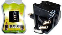 Картридер Card reader USB CARDREADER+HUB(COMBO), фото 1