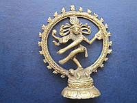 Статуэтка Шива бронза, литьё Индия