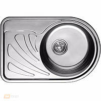 Кухонная мойка ULA HB 7111 ZS (L/R)  ø668*442 satin