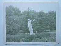 Фотооткрытка Статуя в парке