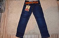 Утепленные джинсы для мальчиков оптом Seagull 116-146 см