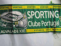 Шарф футбольный Спортинг Лиссабон Оригинал! Новый!