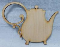 Шильда (накладка) Чайник-2, 15х11,5см