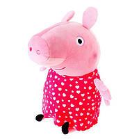 Мягкая игрушка Peppa Пеппа с сердечками