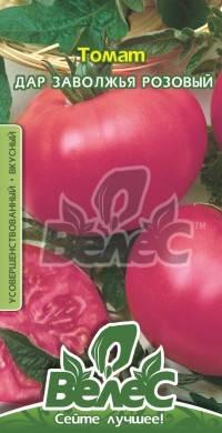 """Насіння томату Дар Заволжжя рожевий 0,15 г ТМ """" ВЕЛЕС, фото 2"""