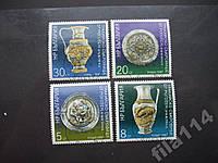 4 марки Болгария 1987 антиквариат