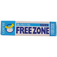 Жевательная резинка Lotte Free Zone