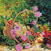"""Схема для вышивания бисером """"Садовые розы"""""""