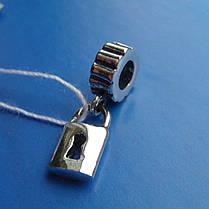 Шарм-подвеска Замок для браслета Пандора, фото 2