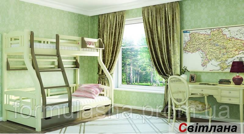 Кровать двухъярусная Светлана