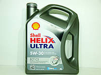Масло моторное SHELL Ultra ECT C3 5w30 4л