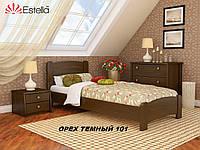 Кровать Венеция Люкс односпальная Бук Щит 101 (Эстелла-ТМ)