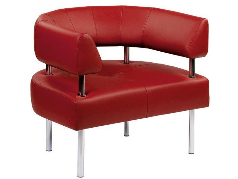 Кресло для зон ожидания округлое Office Новый Стиль
