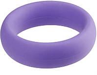 Эрекционное кольцо NEON STIMU RING 40MM PURPLE из прочного силикона!