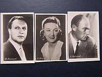 Набор фотооткрыток актёры 50-х СССР