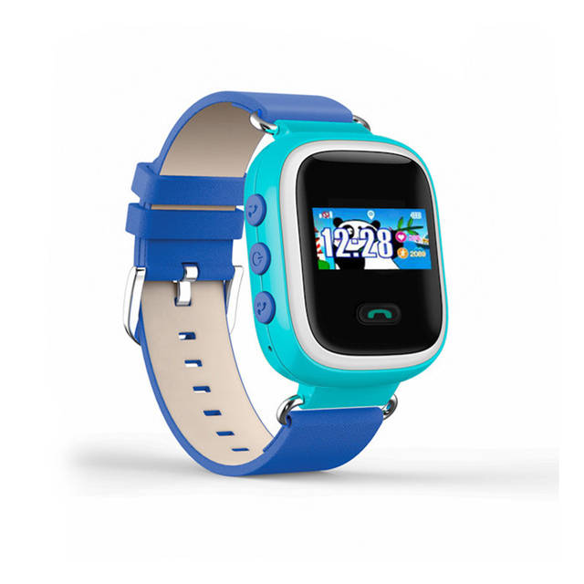 Детские часы-телефон с GPS трекером Q60S