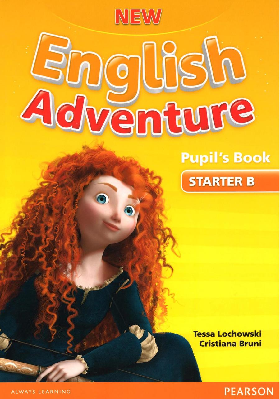 New English Adventure. Level Starter B Pupil's book+DVD