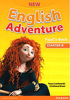 New English Adventure. Level Starter B Pupil's book+DVD