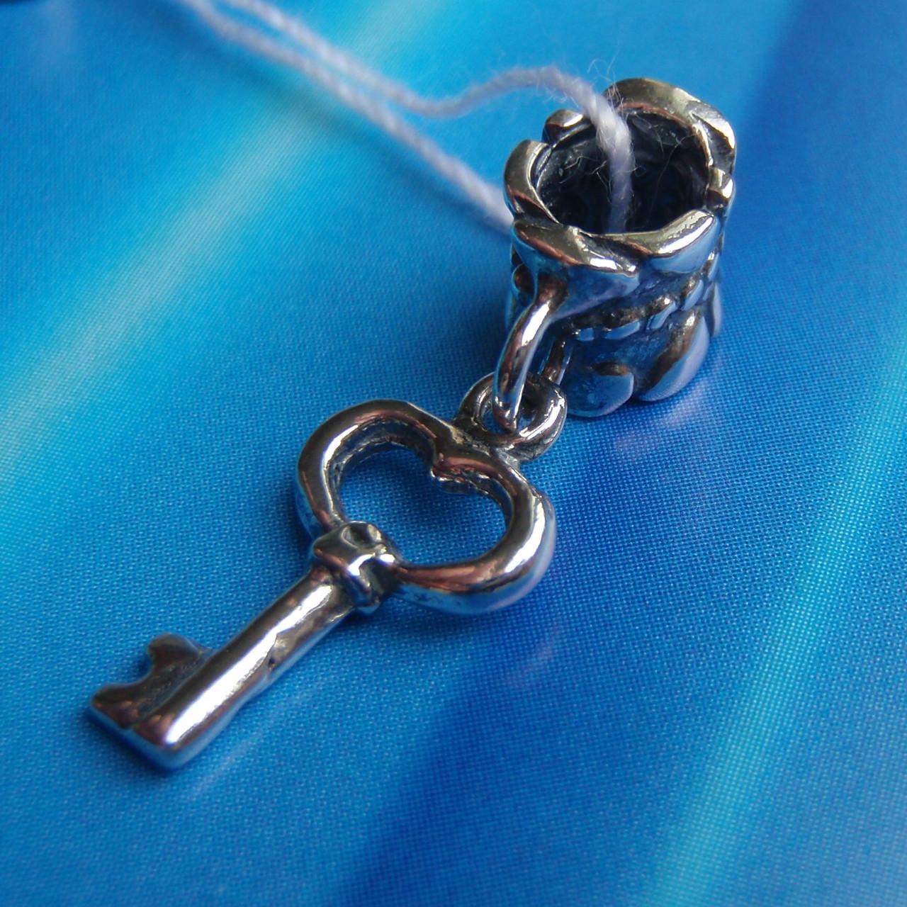 Шарм-подвеска Ключик для браслета Пандора