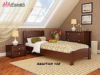 Кровать Венеция Люкс односпальная Бук Щит 108 (Эстелла-ТМ)