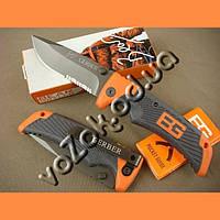 Туристический складной нож Gerber Bear Grylls Scout 30-000386 с клипсой копия