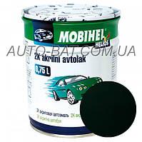 Автоэмаль двухкомпонентная автокраска акриловая (2К) 307 Зелёный сад Mobihel, 0,75 л