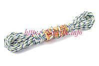 Веревка бельевая для самых бережливых 4 мм 11 метров