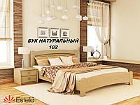 Кровать Венеция Люкс двуспальная Бук Щит 102 (Эстелла-ТМ)