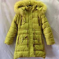 Детское зимнее пальто оптом  на девочку 140-164