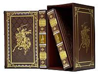 Книга кожаная Великие полководцы, фото 1
