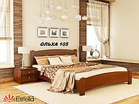 Кровать Венеция Люкс двуспальная Бук Щит 105 (Эстелла-ТМ)