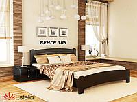 Кровать Венеция Люкс двуспальная Бук Щит 106 (Эстелла-ТМ)