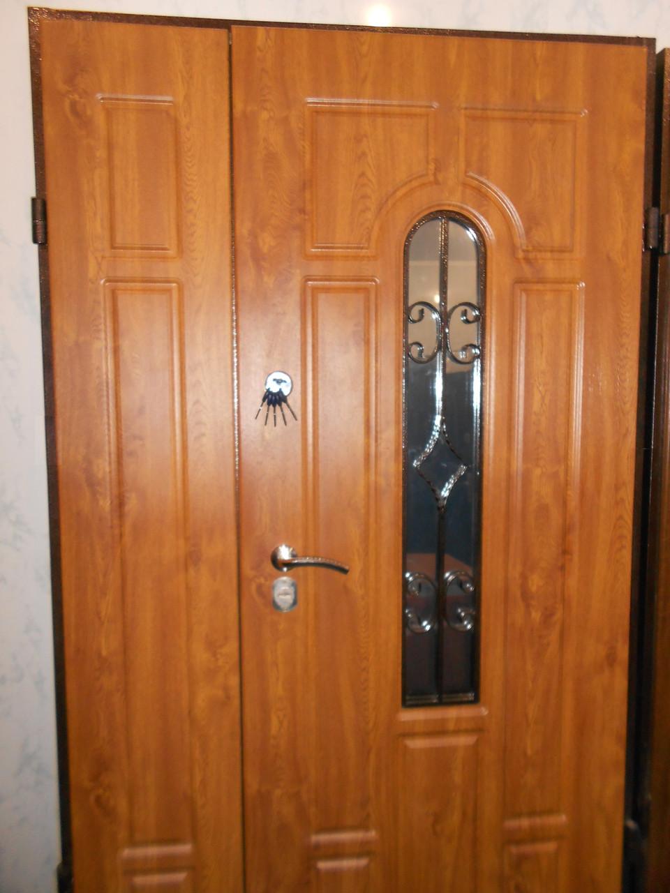 Двери входные с ковкой бесплатная доставка 1,20х2,05