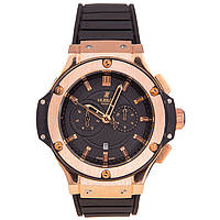 Hublot King Power Black Gold Steel