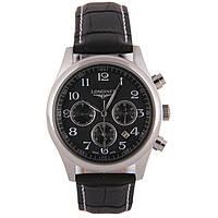Мужские классические часы Longines Master Collection Black