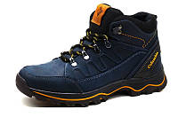 Мужские зимние кожаные ботинки Columbia NS blue 40