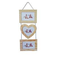 Заготовка деревянные декоративные фоторамки 3шт. по 14х19 см, Идейка, LY1013-0991