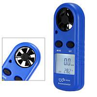 Цифровой анемометр, измеритель скорости воздуха, газов...