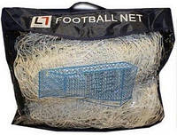 Сітка футбольна C-3346 (нейлон, р-р 7,24*2,23м, ячейка 4-х уг. р-р 14см*14см, PVC чехол, 2шт)