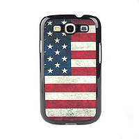 Ретро чехол для Samsung Galaxy S3 I9300 с флагом США и Великобритании