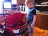 Детский  электромобиль джип FORD RANGER F-150, двухместный, бордо, фото 2