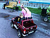 Детский  электромобиль джип FORD RANGER F-150, двухместный, бордо, фото 3