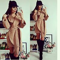 Женское легкое кашемировое пальто