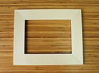 Деревянная рамка 15x20 см (липа плоский 55 мм), фото 1