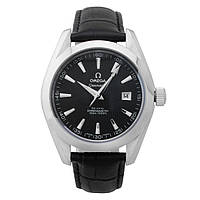 Мужские наручные часы Omega De Ville Co-Axial Chronometer Black Silver
