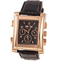 Стильные мужские часы Patek Philippe Gondolo Black Gold