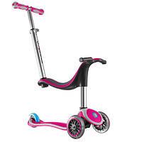 Самокат-Велобег GLOBBER MY FREE 2C 4 в 1 розовый